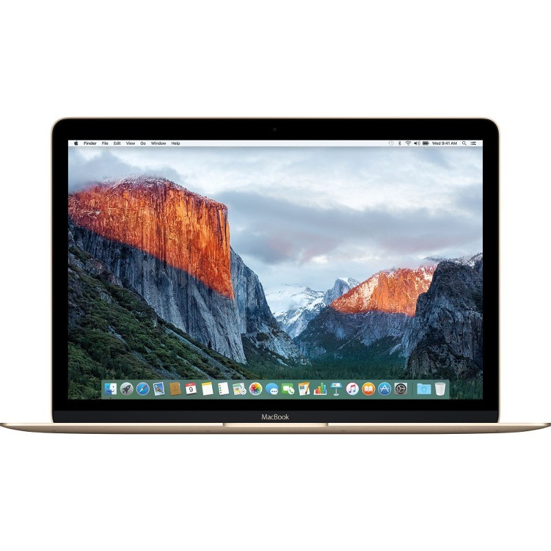 Laptop Macbook 12 Inch Retina Intel Skylake Core M5 1.2ghz 8gb Ddr3 512gb Ssd Intel Hd Graphics 515 Mac Os X El Capitan Gold Ro Keyboard