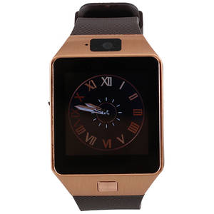 Smartwatch Star Rush Gold Silicon Brown
