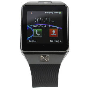 Smartwatch Star Rush Grey Silicon Black