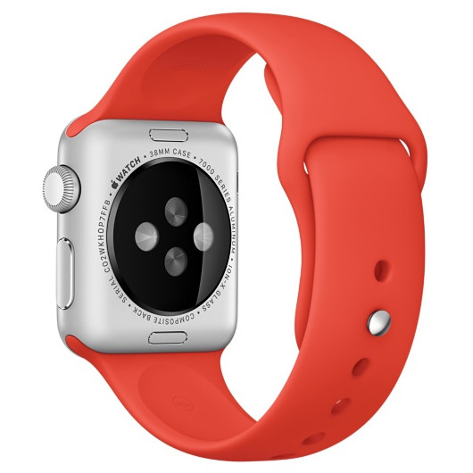 Curea Smartwatch Watch 38mm Orange Sport Band
