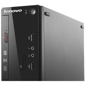 Sistem desktop Lenovo Thinkcentre S500 SFF Intel Pentium G3260 4GB DDR3 1TB HDD Black