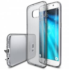 Husa Protectie Spate Ringke Air Smoke Black pentru Samsung Galaxy S7 Edge