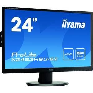 Monitor LED Iiyama X2483HSU-B2 24 inch 4ms Black