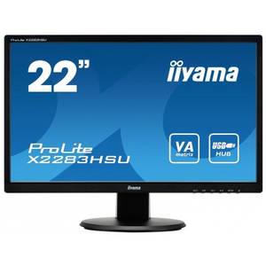 Monitor LED Iiyama ProLite X2283HSU-B1DP 21.5 inch 5ms Black