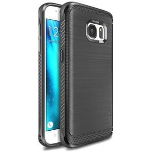 Husa Protectie Spate Ringke Onyx Mist Gray plus folie protectie pentru Samsung Galaxy S7