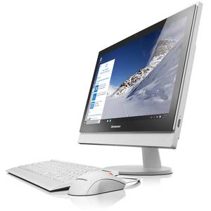 Sistem All in One Lenovo S400z 21.5 inch Full HD Intel Core i3-6100U 4GB DDR4 1TB+8GB SSHD Windows 7 Pro upgrade Windows 10 Pro White