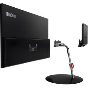 Sistem All in One Lenovo ThinkCentre X1 23.8 inch Full HD Intel Core i7-6600U 8GB DDR4 256GB SSD Windows 10 Pro Black