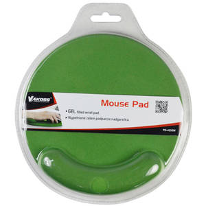 Mousepad Vakoss Gel PD-423GN Green