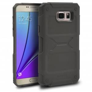Husa Protectie Spate Ringke Rebel Olive plus folie protectie pentru Samsung Galaxy Note 5