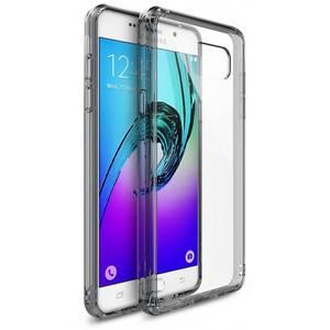 Husa Protectie Spate Ringke Fusion Smoke Black plus folie protectie pentru Samsung Galaxy A3 2016
