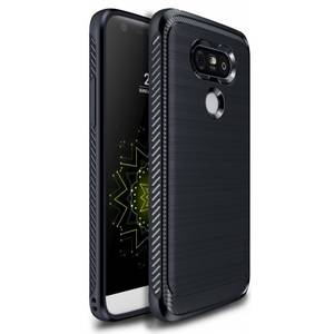 Husa Protectie Spate Ringke Onyx Midnight Navy plus folie protectie pentru LG G5