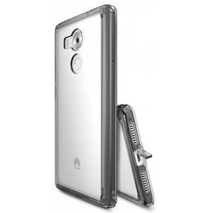 Husa Protectie Spate Ringke Fusion Smoke Black plus folie protectie pentru Huawei Mate 8