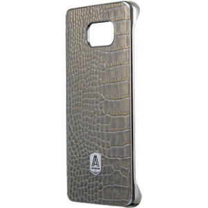 Husa Protectie Spate Anymode FA00019KGY Luxe Fashion Gray pentru Samsung Galaxy S6 Edge Plus