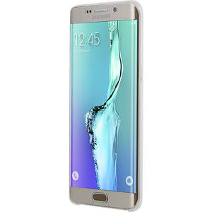 Husa Protectie Spate Anymode FA00047KWH Slim Skin 0.4 White pentru Samsung Galaxy S6 Edge Plus