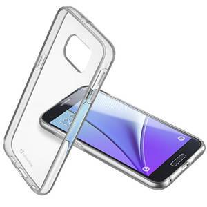 Husa Protectie Spate Cellular Line CLEARDUOGALS7T Bi-Component Transparent pentru Samsung Galaxy S7