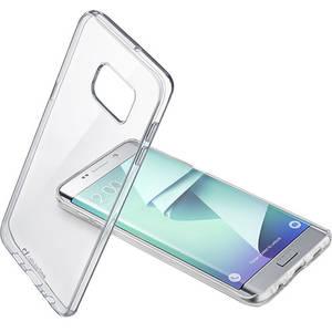 Husa Protectie Spate Cellular Line CLEARDUOGALS7ET Bi-Component Transparent pentru Samsung Galaxy S7 Edge