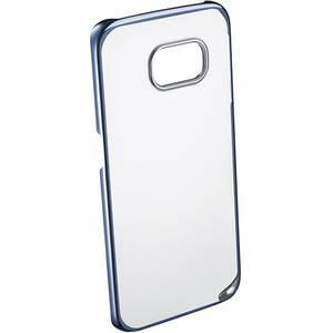 Husa Protectie Spate Cellular Line CLEARCRYGALS6EB Crystal Rigid Blue pentru Samsung Galaxy S6 Edge