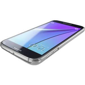 Husa Protectie Spate Cellular Line CLEARCRYGALS7S Crystal Rigid Silver pentru Samsung Galaxy S7