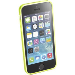 Husa Protectie Spate Cellular Line FLUOCASEIPH5Y Fluo Yellow pentru Apple iPhone SE