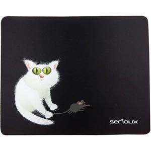 Mousepad Serioux MSP02 Cat and mice
