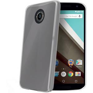 Husa Protectie Spate Celly GELSKIN495 Transparent pentru Motorola Nexus 6