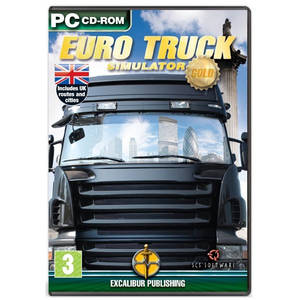 Joc PC Excalibur Euro Truck Simulator Gold