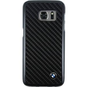 Husa Protectie Spate Bmw Real Carbon Negru pentru Samsung Galaxy S7
