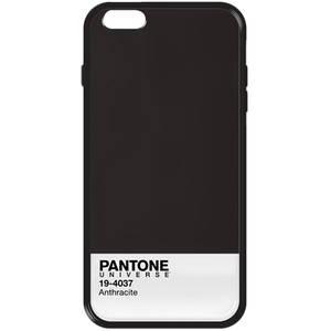 Husa Protectie Spate Case Scenario Pantone Anthracite plus Bumper Negru pentru Apple iPhone SE