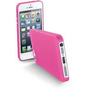 Husa Protectie Spate Cellularline Roz pentru Apple iPhone 5s, iPhone SE