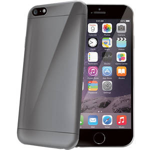 Husa Protectie Spate Celly Ultrasubtire Gri pentru Apple iPhone 6 Plus, iPhone 6s Plus