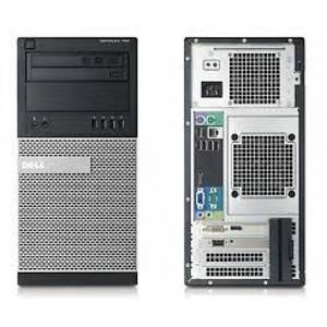 Desktop PC refurbished Dell OptiPlex 790 i3-2100 Generatia 2 3.1GHz 4GB DDR3 320GB HDD Sata RW Tower  Soft Preinstalat Windows 7 Home