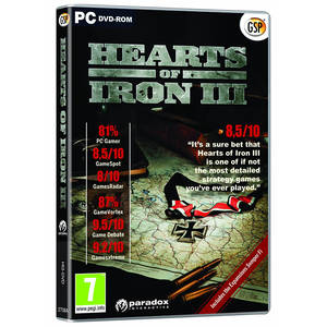 Joc PC Paradox Hearts of Iron III CD Key