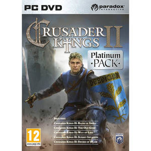 Joc PC Paradox Crusader Kings II Platinum Pack