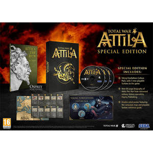Joc PC Sega Total War Attila Special Edition