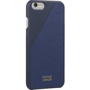 Husa Protectie Spate Native Union CLIC-MAR-LE-H-6S Clic Leather Blue pentru Apple iPhone 6 / 6S
