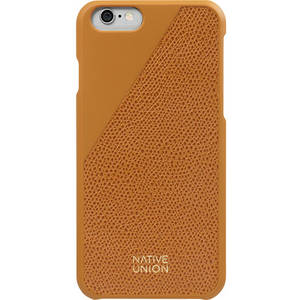 Husa Protectie Spate Native Union CLIC-GLD-LE-H-6S Clic Leather Orange pentru Apple iPhone 6 / 6S
