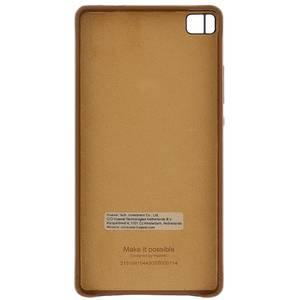Husa Protectie Spate 51991044 Leather Brown pentru Huawei P8