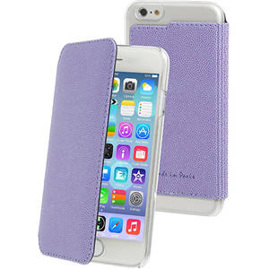 Husa Flip Cover Muvit MUCRF0018 Made in Paris Purple pentru Apple iPhone 6 / 6S