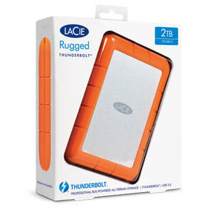Hard disk extern Lacie Rugged 1TB SSD 2.5 inch Thunderbolt USB 3.0