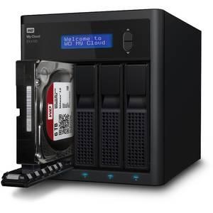 Network attached storage Western Digital My Cloud EX4100 0TB 3.5 inch Gigabit Ethernet USB 3.0 Black