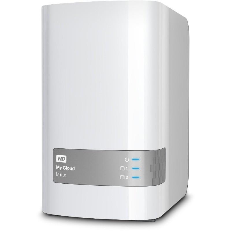 Network Attached Storage My Cloud Mirror Gen 2 6tb Gigabit Ethernet Usb 3.0 White