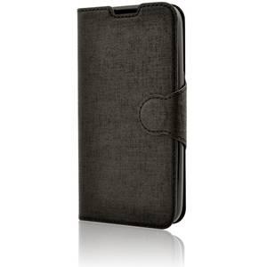 Husa Protectie Spate Lemontti Book Jelly Negru pentru LG K4