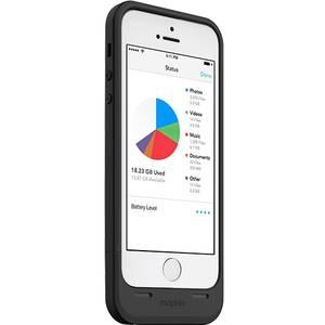 Husa cu incarcare Mophie Space Pack Black 16GB 1700 mAh pentru Apple iPhone 5 / 5S