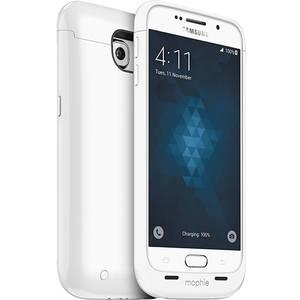 Husa cu incarcare Mophie Juice Pack White 3300 mAh pentru Samsung Galaxy S6