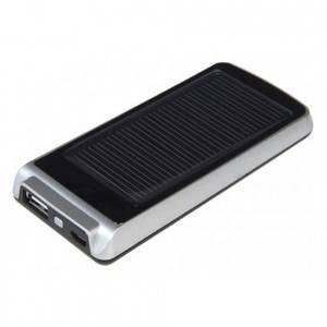 Acumulator extern XTorm AM113 Platinum Mini cu incarcare solara 1200 mAh Black