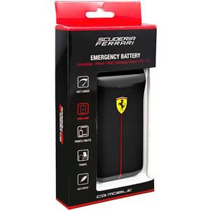 Acumulator extern Ferrari Scuderia Dual USB 2500 mAh Black