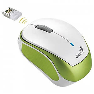 Mouse Genius Wireless Micro Traveler 9000R V3 Green