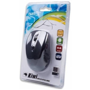Mouse Natec Optical Wireless KIWI Black