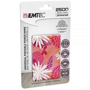 Acumulator extern Emtec Power Essentials Flower 1 Uni 2500 mAh
