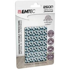 Acumulator extern Emtec Power Essentials Graphic 2 Uni 2500 mAh